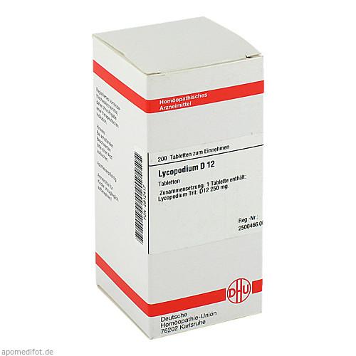 LYCOPODIUM D12, 200 ST, Dhu-Arzneimittel GmbH & Co. KG