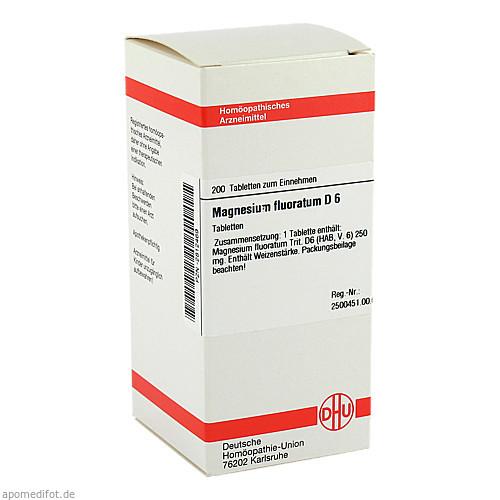 MAGNESIUM FLUOR D 6, 200 ST, Dhu-Arzneimittel GmbH & Co. KG