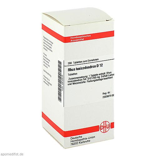 RHUS TOX D12, 200 ST, Dhu-Arzneimittel GmbH & Co. KG