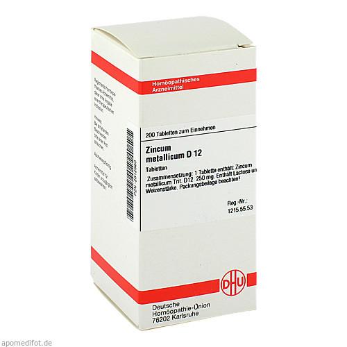 ZINCUM MET D12, 200 ST, Dhu-Arzneimittel GmbH & Co. KG