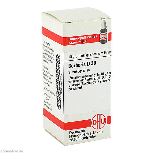 BERBERIS D30, 10 G, Dhu-Arzneimittel GmbH & Co. KG