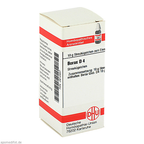 BORAX D 4, 10 G, Dhu-Arzneimittel GmbH & Co. KG