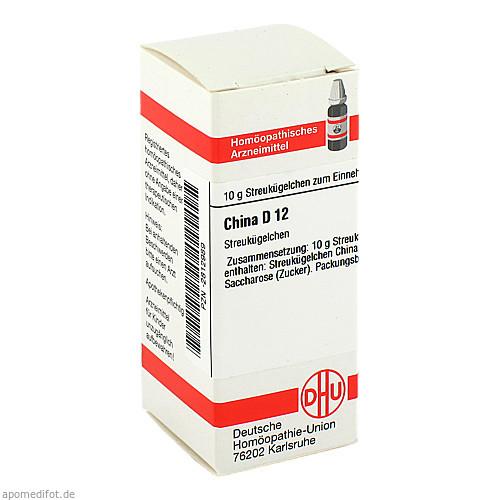 CHINA D 12 Globuli, 10 G, DHU-Arzneimittel GmbH & Co. KG