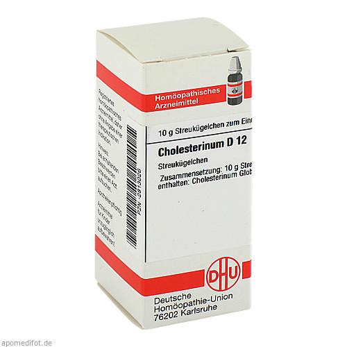 CHOLESTERINUM D 12 Globuli, 10 G, DHU-Arzneimittel GmbH & Co. KG