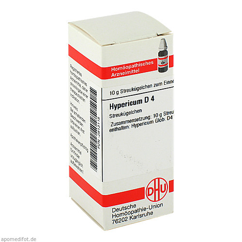 HYPERICUM D 4, 10 G, Dhu-Arzneimittel GmbH & Co. KG