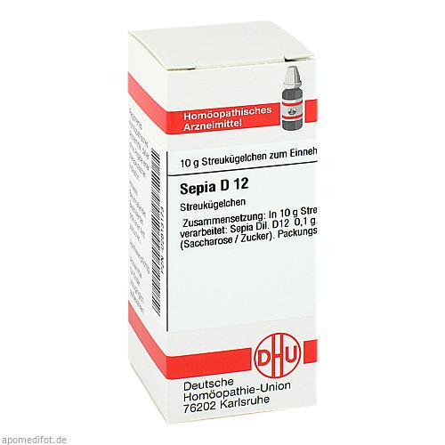 SEPIA D12, 10 G, Dhu-Arzneimittel GmbH & Co. KG