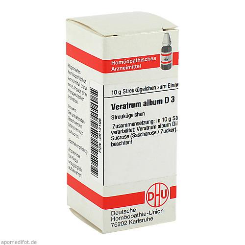 VERATRUM ALB D 3, 10 G, Dhu-Arzneimittel GmbH & Co. KG