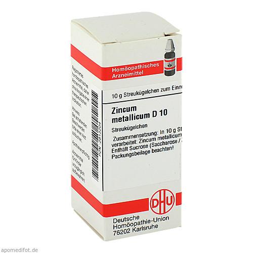 ZINCUM MET D10, 10 G, Dhu-Arzneimittel GmbH & Co. KG