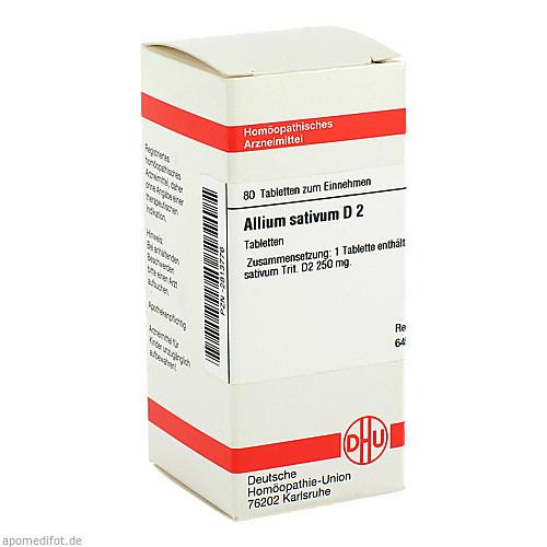 ALLIUM SATIVUM D 2, 80 ST, Dhu-Arzneimittel GmbH & Co. KG