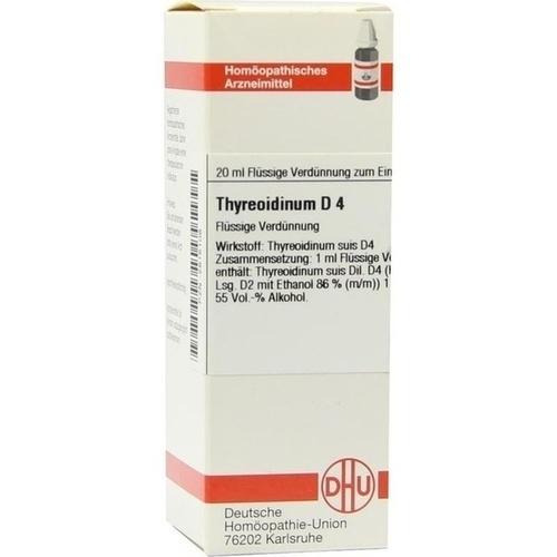 THYREOIDINUM D 4, 20 ML, Dhu-Arzneimittel GmbH & Co. KG