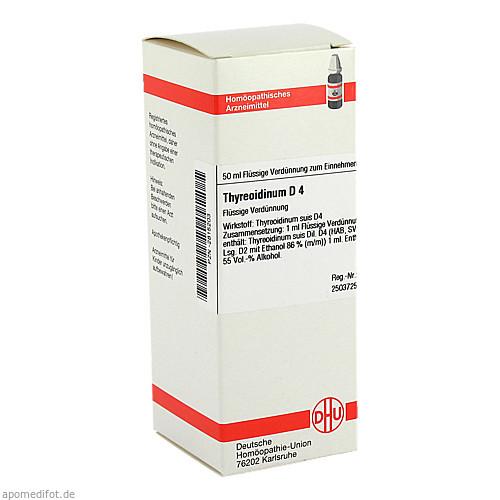 THYREOIDINUM D 4, 50 ML, Dhu-Arzneimittel GmbH & Co. KG