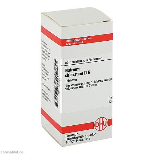 NATRIUM CHLORAT D 6, 80 ST, Dhu-Arzneimittel GmbH & Co. KG
