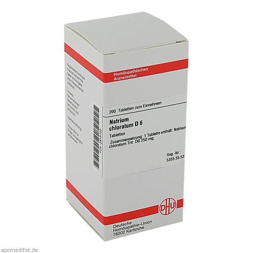 NATRIUM CHLORAT D 6, 200 ST, Dhu-Arzneimittel GmbH & Co. KG