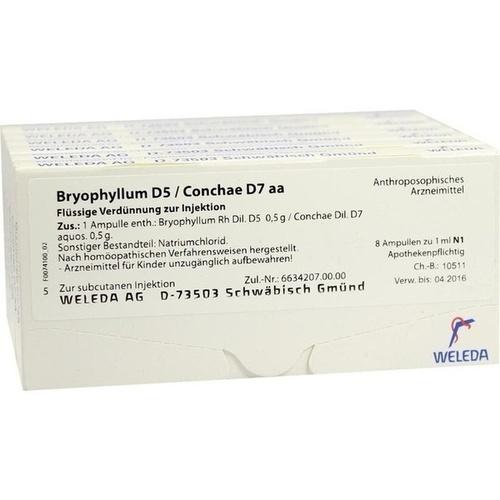 BRYOPHYLLUM D 5 CON D 7, 48X1 ML, Weleda AG