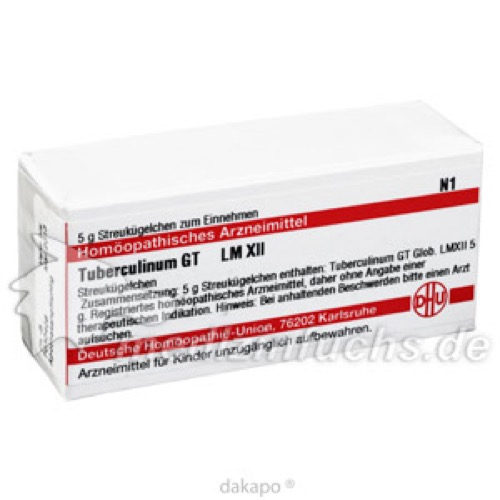 LM TUBERCULINUM GT XII, 5 G, Dhu-Arzneimittel GmbH & Co. KG