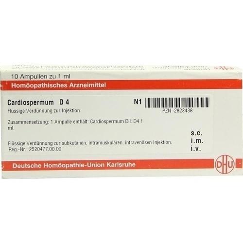 CARDIOSPERMUM D 4 Ampullen, 10X1 ML, DHU-Arzneimittel GmbH & Co. KG