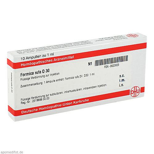FORMICA RUFA D 30 Ampullen, 10X1 ML, DHU-Arzneimittel GmbH & Co. KG