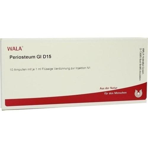 PERIOSTEUM GL D15, 10X1 ML, Wala Heilmittel GmbH