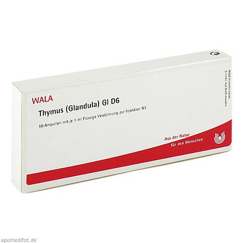THYMUS (GLANDULA) GL D 6, 10X1 ML, Wala Heilmittel GmbH