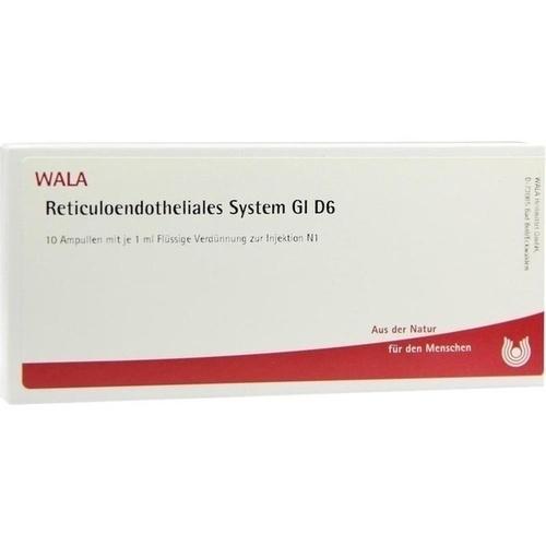 RETICULOENDOTHE SYS GL D 6, 10X1 ML, Wala Heilmittel GmbH