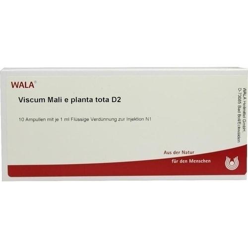 VISCUM MALI E PL TOTA D 2, 10X1 ML, Wala Heilmittel GmbH