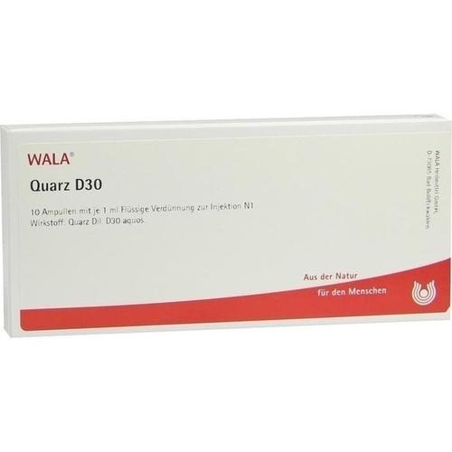 QUARZ D30, 10X1 ML, Wala Heilmittel GmbH