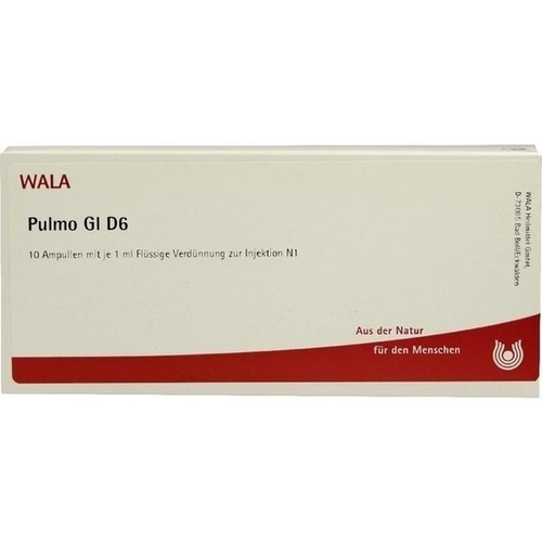 PULMO GL D 6, 10X1 ML, Wala Heilmittel GmbH