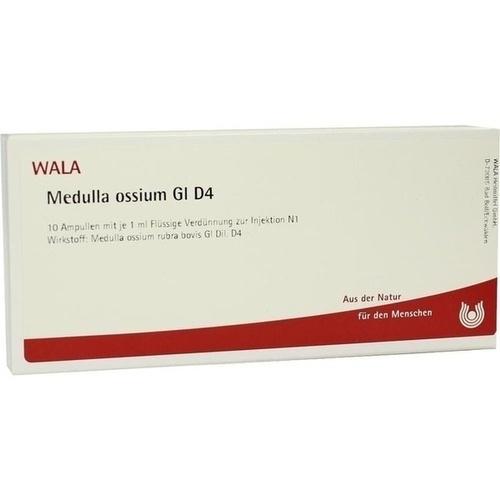 MEDULLA OSSIUM GL D 4, 10X1 ML, Wala Heilmittel GmbH
