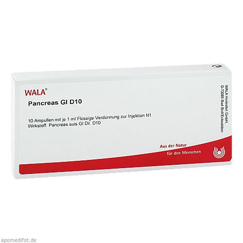 PANCREAS GL D10, 10X1 ML, Wala Heilmittel GmbH