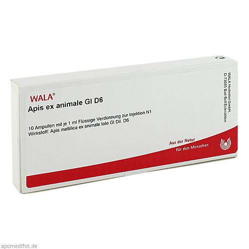 APIS EX ANIMALE GL D 6, 10X1 ML, Wala Heilmittel GmbH