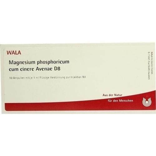 MAGNESIUM PHOS C CI AV D 8, 10X1 ML, Wala Heilmittel GmbH