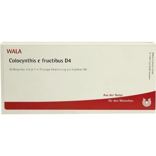 COLOCYNTHIS E FRUCT D 4, 10X1 ML, Wala Heilmittel GmbH