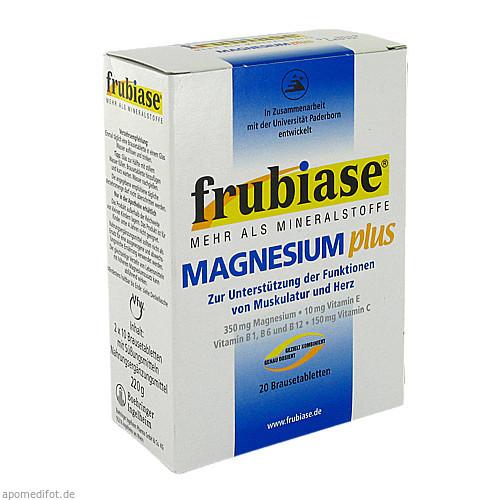 FRUBIASE MAGNESIUM PLUS, 20 ST, Sanofi-Aventis Deutschland GmbH