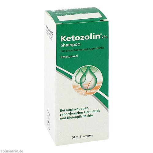 KETOZOLIN 2%, 60 ML, Dermapharm AG