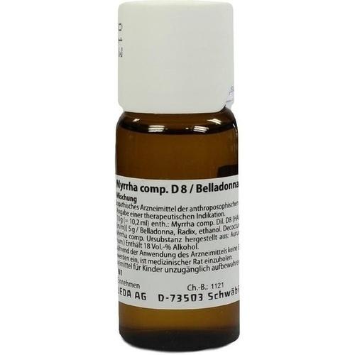 Myrrha comp. D8/Belladonna Radix D10 aa, 50 ML, Weleda AG