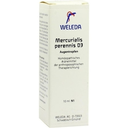 MERCURIALIS PERENNIS D 3 Augentropfen, 10 ML, WELEDA AG