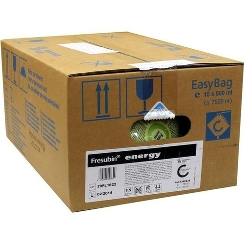Fresubin energy Easy Bag, 15X500 ML, Fresenius Kabi Deutschland GmbH