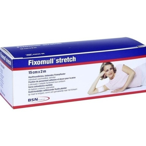FIXOMULL stretch 2mx15cm, 1 ST, Aca Müller/Adag Pharma AG