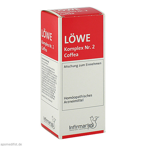 Löwe-Komplex Nr. 2 Coffea, 100 ML, Infirmarius GmbH