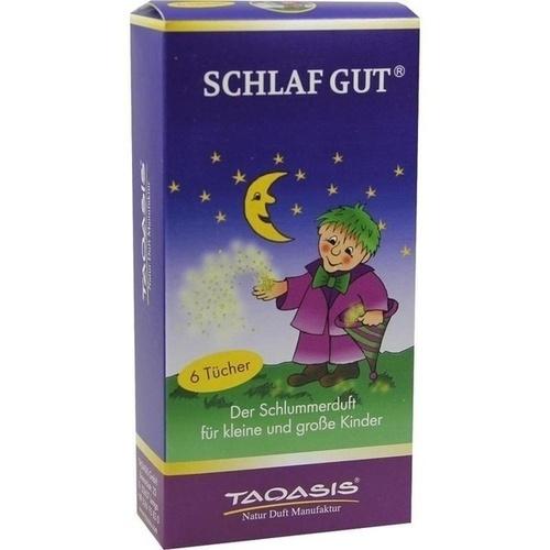 Schlaf Gut Dufttuch, 6 ST, Taoasis GmbH Natur Duft Manufaktur