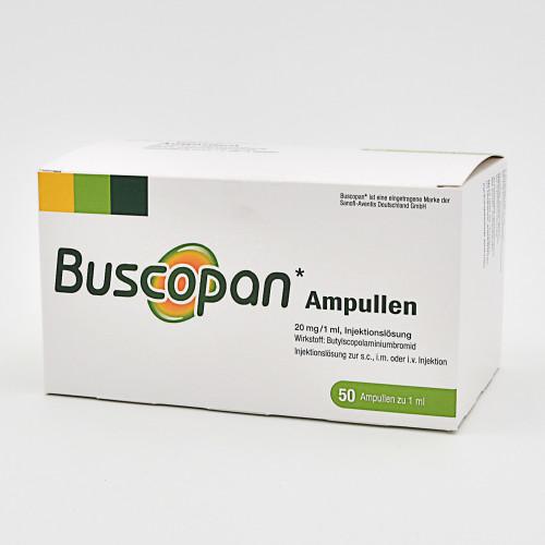 Buscopan, 50X1 ML, Emra-Med Arzneimittel GmbH
