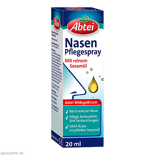 Abtei Nasenpflegeöl, 20 ML, Omega Pharma Deutschland GmbH