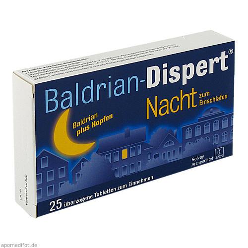 BALDRIAN DISPERT NACHT zum Einschlafen, 25 ST, Cheplapharm Arzneimittel GmbH