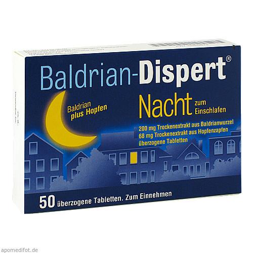 BALDRIAN DISPERT NACHT zum Einschlafen, 50 ST, Cheplapharm Arzneimittel GmbH