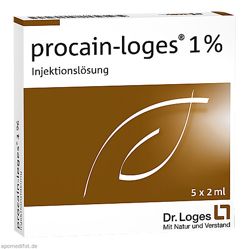 procain-Loges 1% Injektionslösung, 5X2 ML, Dr. Loges + Co. GmbH