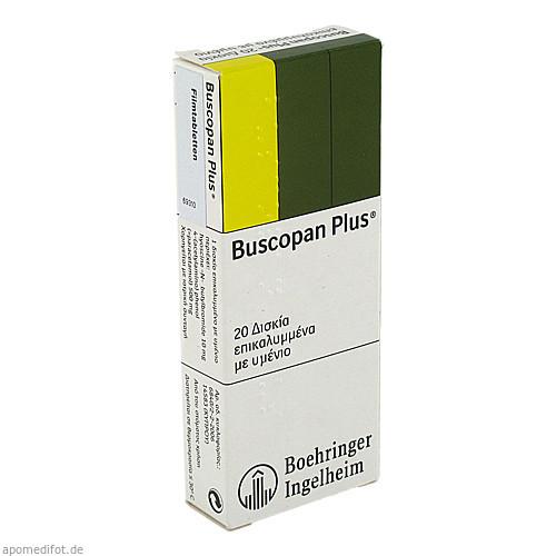 BUSCOPAN PLUS, 20 ST, Emra-Med Arzneimittel GmbH