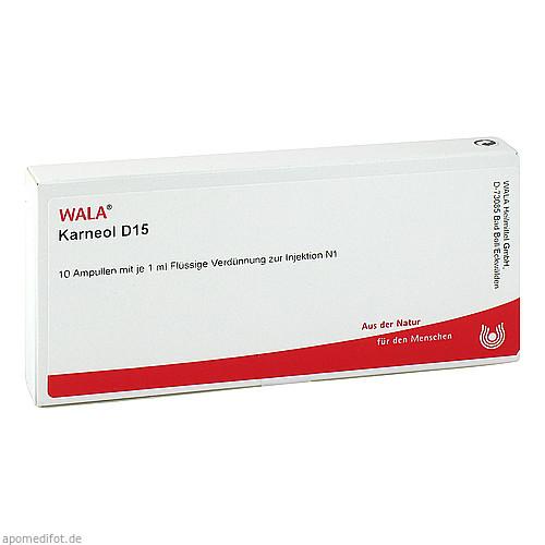 KARNEOL D15, 10X1 ML, Wala Heilmittel GmbH