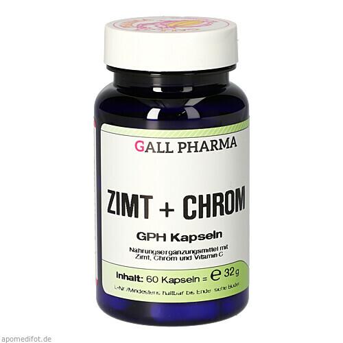 Zimt + Chrom GPH Kapseln, 60 ST, Hecht-Pharma GmbH
