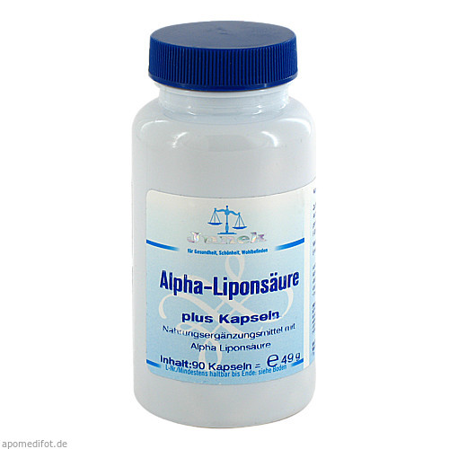 Alpha - Liponsäure plus Junek Kapseln, 90 ST, Bios Medical Services