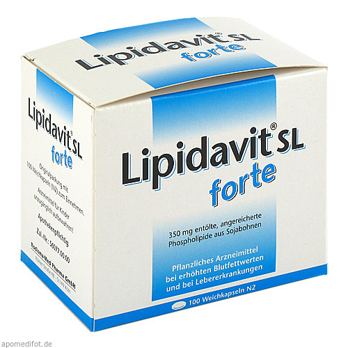 Lipidavit SL forte, 100 ST, Rodisma-Med Pharma GmbH